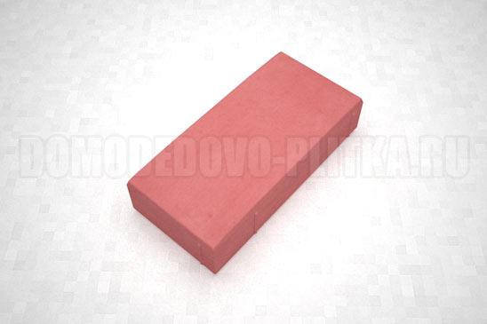 плитка английский булыжник цвет красный