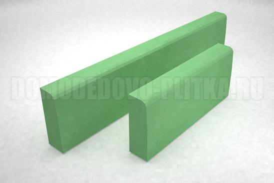 бордюр садовый большой цвет зеленый