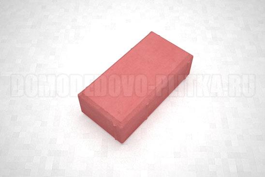 брусчатка цвет красный