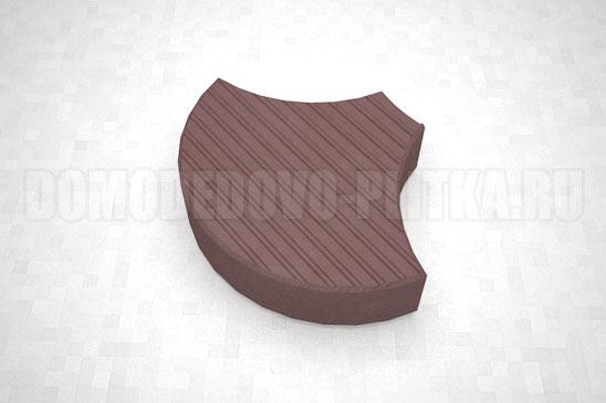 плитка чешуя цвет коричневый