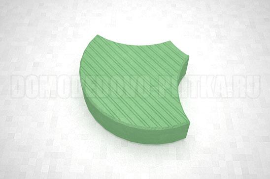 плитка чешуя цвет зеленый