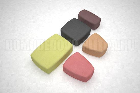 плитка классика цветная