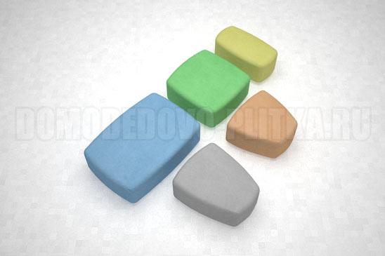 плитка классика разноцветная