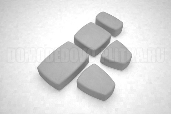 плитка классика цвет серый
