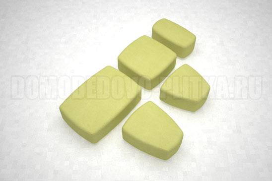 плитка классика цвет желтый