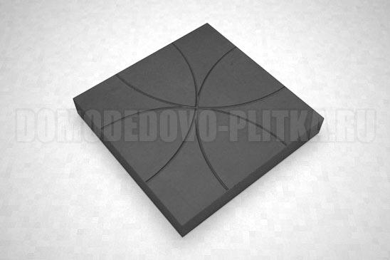 плитка цветок цвет черный