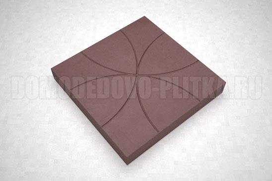 плитка цветок цвет коричневый