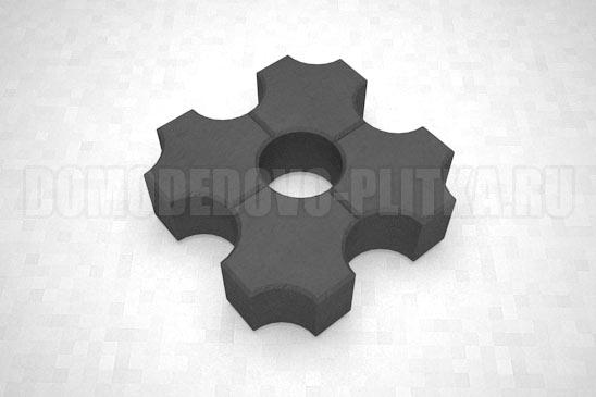 плитка эко цвет черный