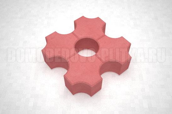 плитка эко цвет красный