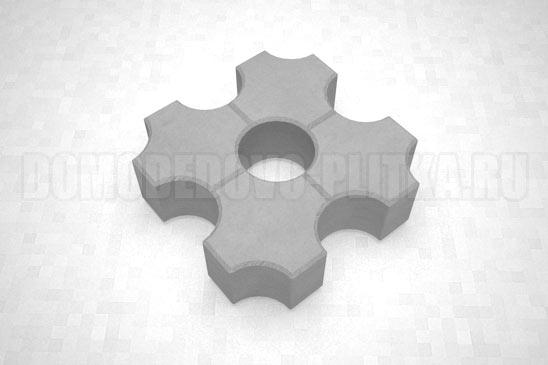 плитка эко цвет серый