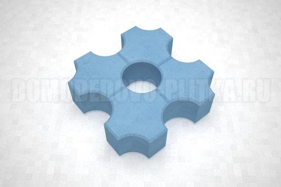 плитка эко цвет синий