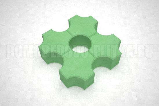 плитка эко цвет зеленый