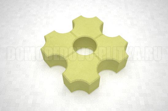 плитка эко цвет желтый