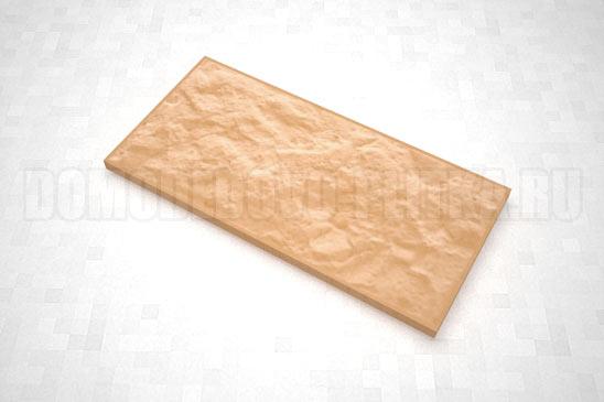 плитка рваный камень 270*127 цвет оранжевый