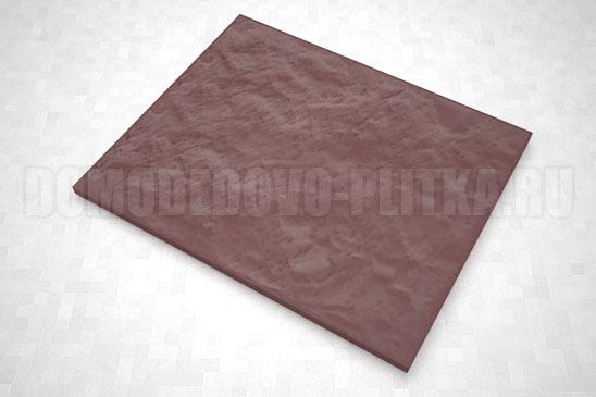 плитка колотый камень 270*330 цвет коричневый