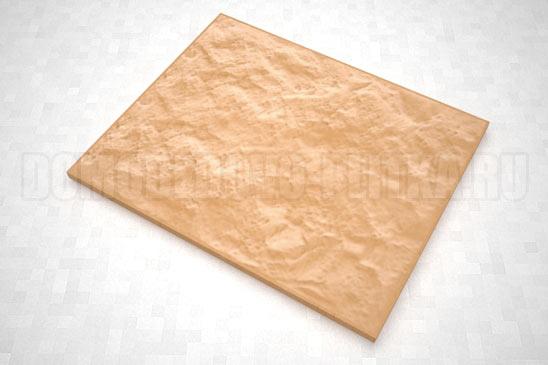 плитка колотый камень 270*330 цвет оранжевый