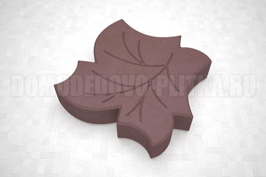 плитка клен цвет коричневый