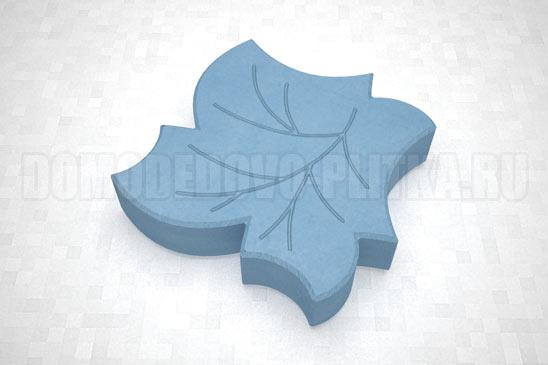 плитка клен цвет синий