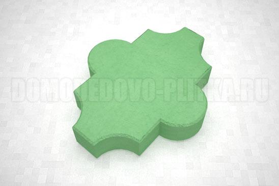 плитка клевер гладкий цвет зеленый