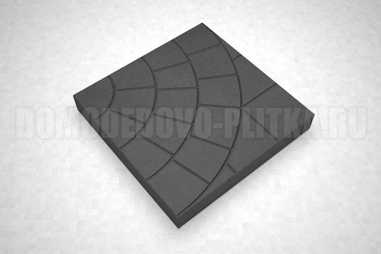 плитка паутина-35 цвет черный