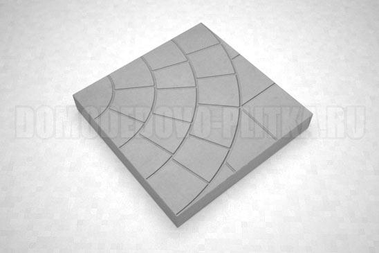 плитка паутина-35 цвет серый