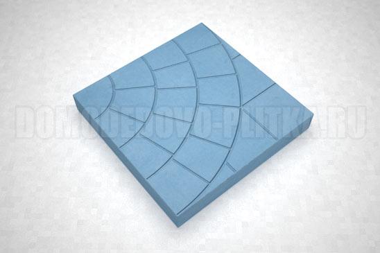 плитка паутина-35 цвет синий