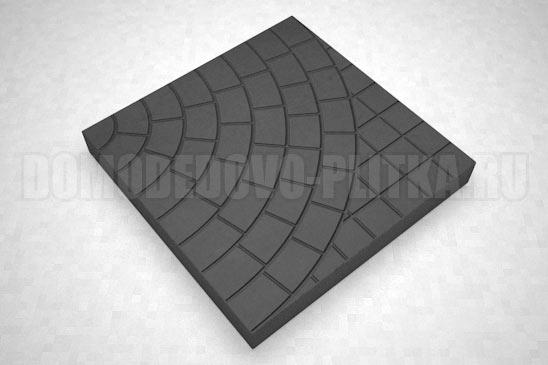 плитка паутина-40 цвет черный