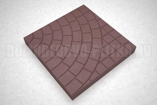 плитка паутина-40 цвет коричневый
