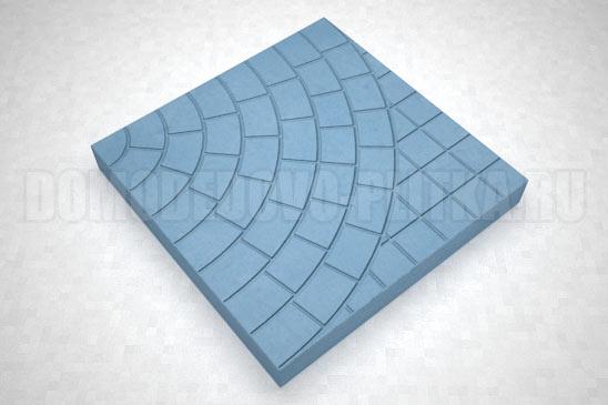 плитка паутина-40 цвет синий