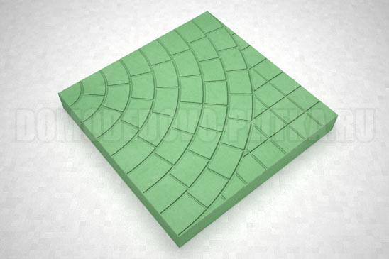 плитка паутина-40 цвет зеленый