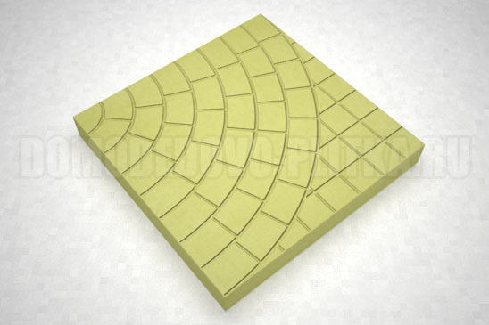 плитка паутина-40 цвет желтый