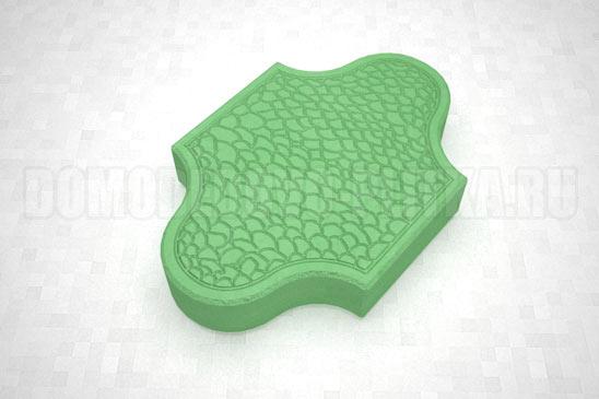 плитка рокко цвет зеленый