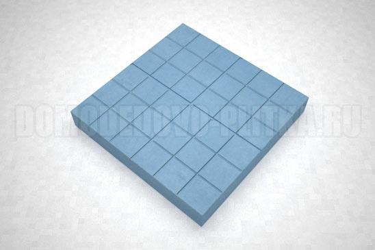 плитка сетка цвет синий