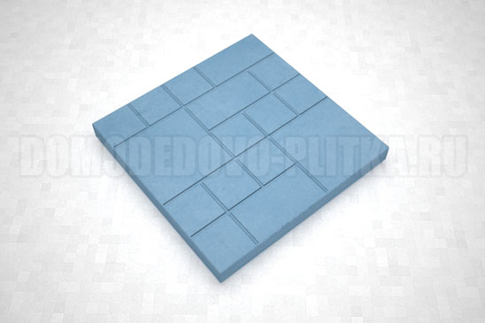плитка шоколадка цвет синий