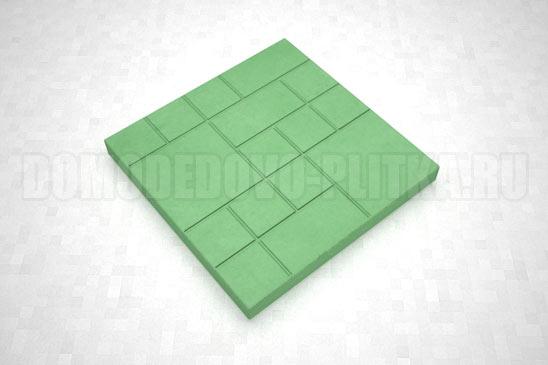 плитка шоколадка цвет зеленый