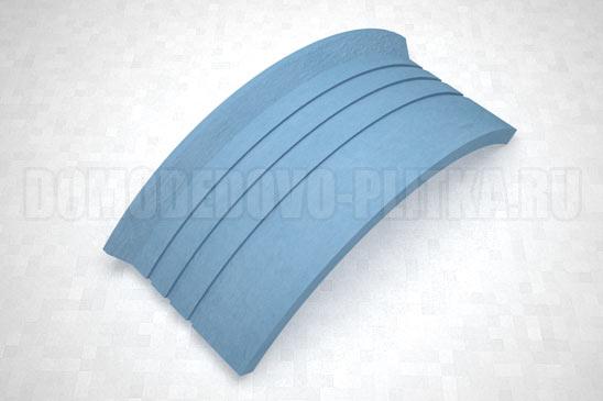 подступенок угловой цвет синий