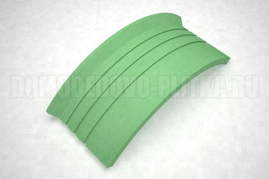 подступенок угловой цвет зеленый