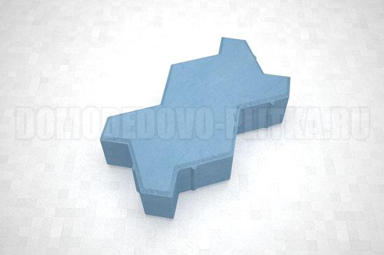 плитка волна цвет синий