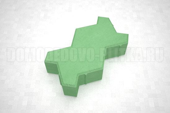 плитка волна цвет зеленый