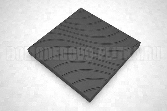 плитка волны цвет черный