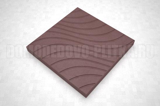 плитка волны цвет коричневый