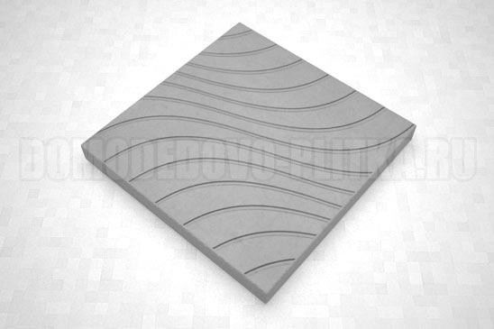 плитка волны цвет серый