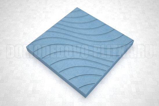 плитка волны цвет синий