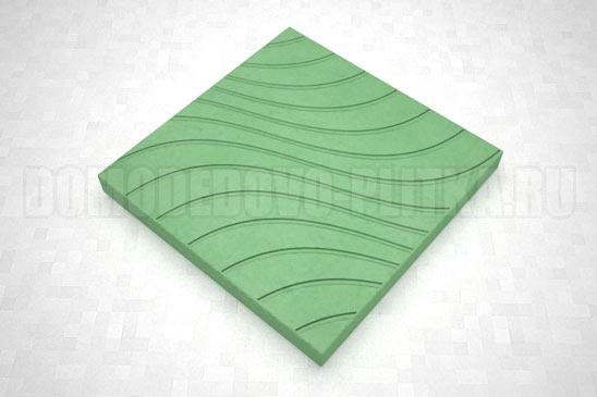 плитка волны цвет зеленый