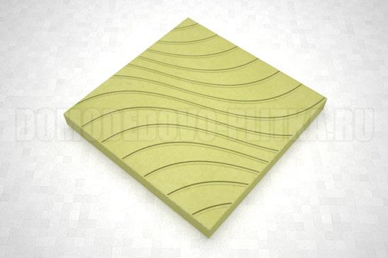 плитка волны цвет желтый